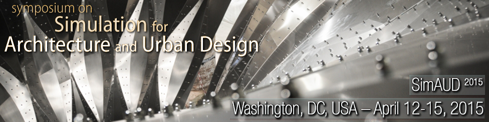Symposium on Simulation for Architecture and Urban Design